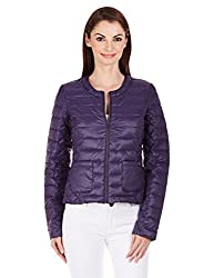 Gas Womens Quilted Jacket (72227_ Blackberry_44)