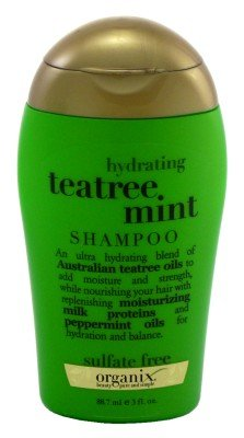Organix Shampoo Tea Tree Mint 89 ml (Pack of 4) (shampoo)