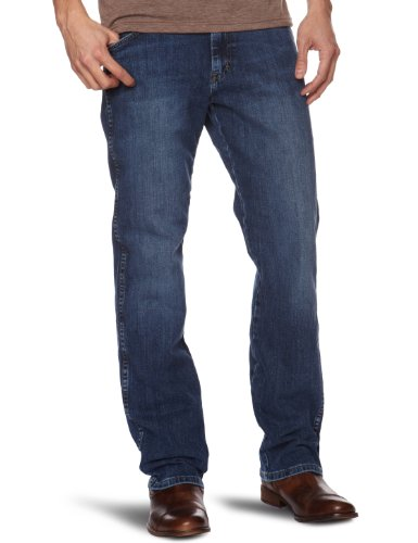 Wrangler Arizona Straight Men's Jeans Canyon Blue W32 INxL32 IN