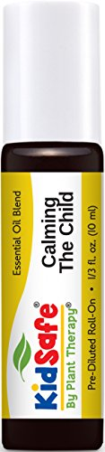 KidSafe Calming the Child Synergy Pre-Diluted Essential Oil Roll-On 10 ml (1/3 fl oz). Ready to use!