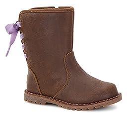 UGG Kids Women\'s Corene Chocolate Boot 10 Toddler M