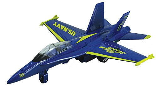 F-18 Hornet Blue Angel - 9 Inch (Blue Angels Model compare prices)