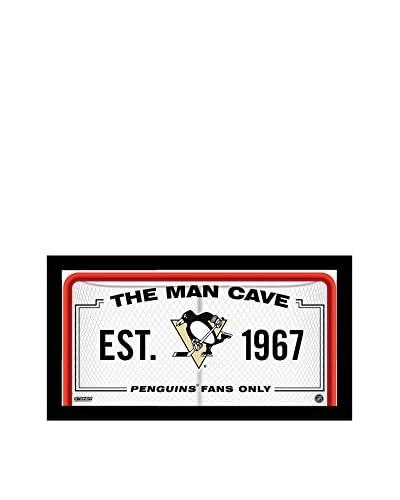 Steiner Sports Memorabilia Pittsburgh Penguins Man Cave Sign, 10 x 20