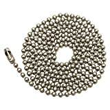 Westinghouse Lighting Corp 3-Feet Beaded Chain, Nickel