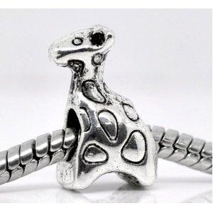 Believe Beads © 1 X Giraffe Charm Bead fits Pandora/Troll/Chamilia style Bracelets