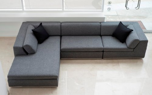 Exclusive modern furniture edition 5 hans wal modern for Karl large sectional sofa