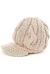 Losuya® Fashion Women Girls Hats Slouchy Knit Beanie Winter Newsboy Snow Hat