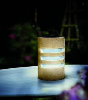 Cole and Bright Solar Column Table Light by Gardman