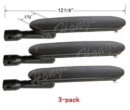 Hongso CBI551(3-pack) Cast Iron Burner for Kenmore Grills (12 7/8 (Kenmore 3 Burner Patio Grill compare prices)