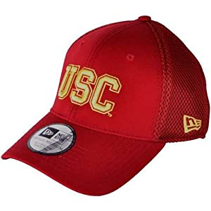 usc trojans new era aflex hat small