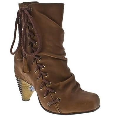 Irregular Choice Wicked West - 6 Uk - Tan - Leather