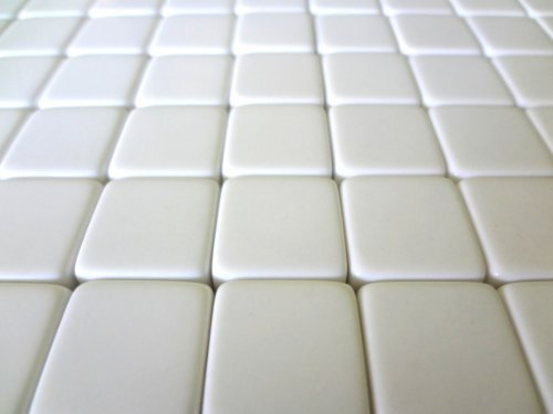 50 Blank White Dice 16MM - 1