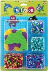 Perler Beads Fuse Bead Activity Kit Fun Fusion/Ocean Buddies 559-71; 2 Items/Order
