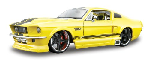 1967-Ford-Mustang-GT-Maisto-Custom-Shop-Auto-Modell-124
