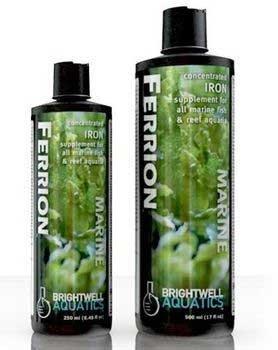 Brightwell Aquatics Abafer500 Ferrion Liquid Salt Water Conditioners For Aquarium, 17-Ounce