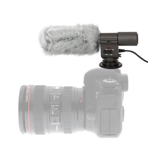 Sennheiser MKE 400 Professional Compact Video Camera Shotgun Microphone Black