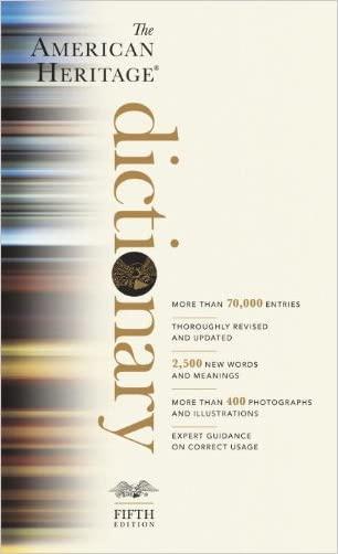 The American Heritage Dictionary: Fifth Edition written by Houghton Mifflin Company