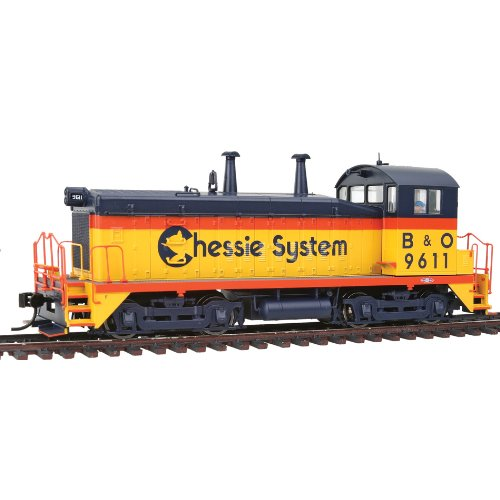 Walthers PROTO 2000 HO Scale Diesel EMD SW9/1200 Powered Standard DC - Chessie System/Baltimore And Ohio #9611