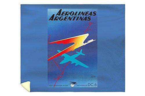 aerolineas-argentinas-vintage-poster-artist-colin-france-c-1950-88x104-king-microfiber-duvet-cover