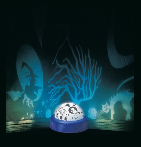 Paper Magic Group Spooky Home Decor, Rotating Light, Spooky Shadows