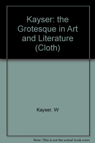 The Grotesque in Art and Literature