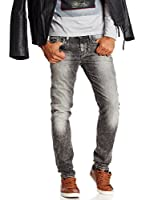 Pepe Jeans London Vaquero Hatch (Gris Oscuro)