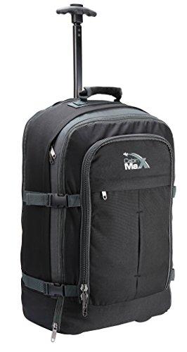 Cabin Max Malmo-Trolley da Cabina 44L mehfunktional ruolo bagagli, Nero/grigio, carry-on