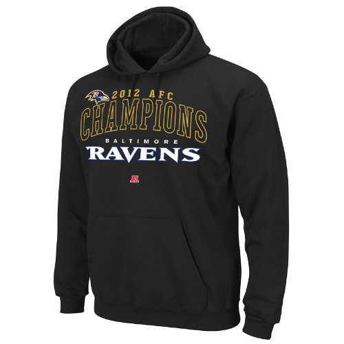 Nfl Baltimore Ravens 2012 Afc Conference Champs Choice V Hoodie Picture