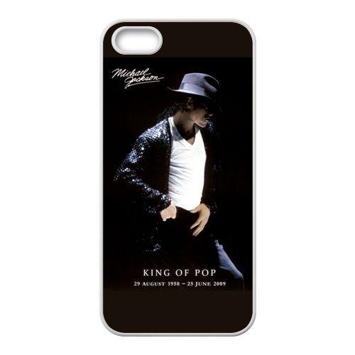 Great Sale Michael Jackson RUBBER SILICONE Case for iPhone 5, Michael Jackson RUBBER iPhone Case-AZA