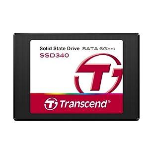 Transcend SSD 2.5インチ SATA3 6Gb/s MLC採用 128GB 3年保証 TS128GSSD340