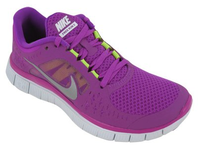 Nike Free Run+3 Womens Running Shoes 510643-002
