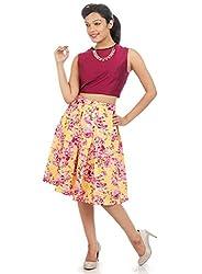 box pleated skirts