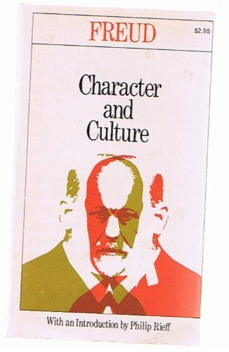 Character and Culture, Freud, Sigmund