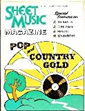 Pop and Country Gold (Sheet Music, Volume 1 Number 5)