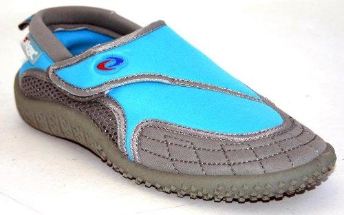 Aquatik Men and Women Aqua Water Shoes Beach Shoes Women 5 Blue Grey
