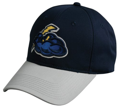 milb-minor-league-adult-trenton-thunder-navy-gray-hat-cap-adjustable-velcro-twill-yankees-affiliate