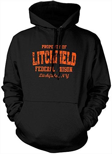 Prigione di Litchfield federale Felpa con cappuccio, colore: arancione