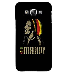 PrintDhaba Singing Man D-5376 Back Case Cover for SAMSUNG GALAXY A7 (Multi-Coloured)