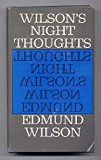 Wilson's Night Thoughts by Edmund…