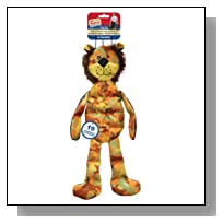 Ethical Pet America's Vet Dog Tons-of-Squeakers Camouflage Lion Dog Toy, 19-Inch