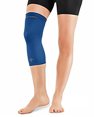 Tommie Copper Women's Recovery Refresh Knee Sleeve, Cobalt Blue, XX-Large