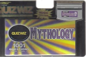 Tiger Electronics / Quiz Wiz Quiz Wiz ~ Mythology { Cartridge & Quiz Book #57 } at Sears.com