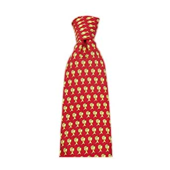 Official Atlas Shrugged Men's Icon Tie Red