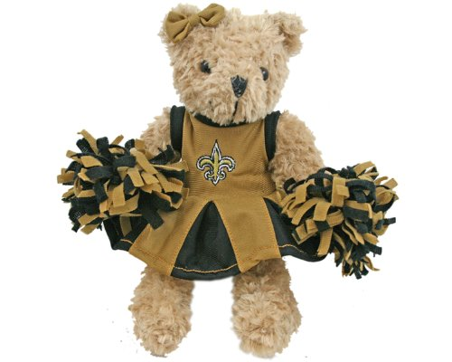 NFL New Orleans Saints Cheerleader Bear at Amazon.com