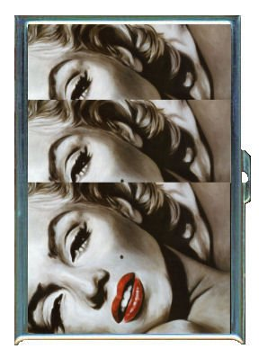 ID CREDIT CARD HOLDER OR CIGARETTE CASE: MARILYN MONROE MODERN IMAGES BY PENNY SILVER