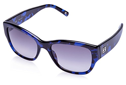 Escada Escada Wayfarer Sunglasses (Blue And Demi Brown) (SES 190|0L93|55)
