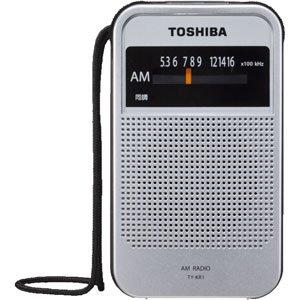 東芝 AM専用ラジオTOSHIBA TY-KR1-S