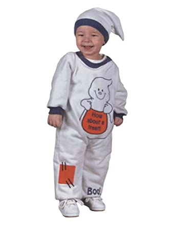 ToddlerCostume Ghost Jumpsuit Toddler Costume 18 24 Months Halloween