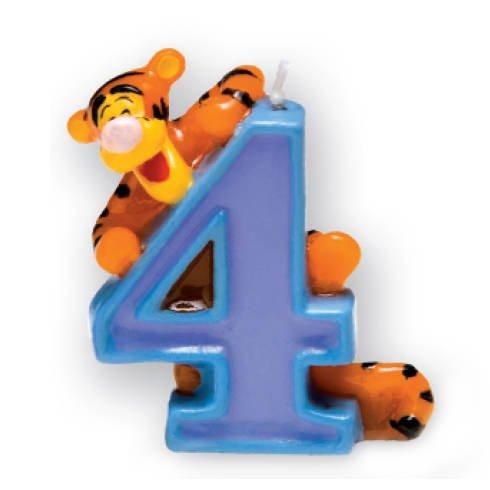 Kerze 4 Winnie Pooh, 3D