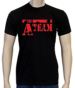 Coole-Fun T-Shirts A-TEAM Men's T-Shirt black Size:S